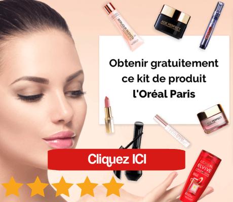 produit L'Oréal gratuit